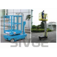 China Self Driven Hydraulic Lift Ladder 5m Working Height Dual Mast For Auto Stations on sale