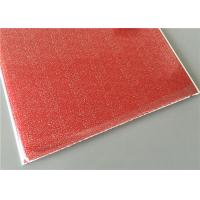 Buy Red Transfer Design Waterproof Wall Panels Light Weight Building Material at wholesale prices