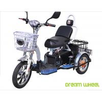 Quality 48V 350W/500W Electric Mobility Scooter , 3 Wheel Electric Bike For Two Passengers for sale
