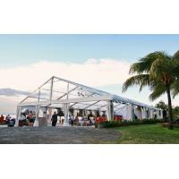 Buy Wedding Banquet Clear Waterproof Clear Span Structure Tents For 1000 people Party at wholesale prices