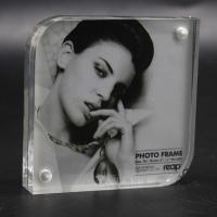 Quality Acrylic photo frame with magnet for sale
