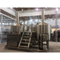Buy SUS 304 7Bbl Large Scale Brewing Equipment Semi Automatic Control System at wholesale prices