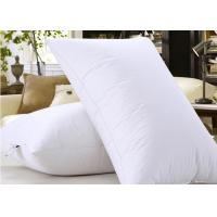Quality Microfiber Filling Hotel Collection Pillows For Nursing / Sleeping Rectangle Shape for sale