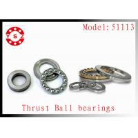 Quality NTN Timken 51113 Bearings Stainless Steel Genuine For Pump High Accuracy for sale