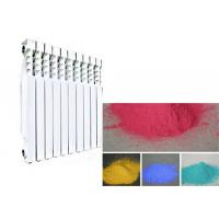 Buy Electrostatic High Gloss Powder Coat Finish , Radiator Clear Coating Powder Coat at wholesale prices