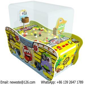 Quality Parent Child Kids Combat Pirates Battle Arcade Games Lottery Tickets Redemption Machines for sale