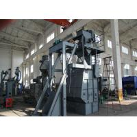 Quality Tumble Belt Dustless Blasting Machine , Rust Removal Shot Peening Machine for sale