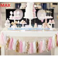 China Colorful Party Decoration Tassel Garland/ Paper Tassel Garland Wholesales in China on sale