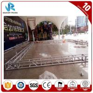 Quality Versatile Mini Lighting Aluminum Truss Display Triangle / Ladder Shape for sale