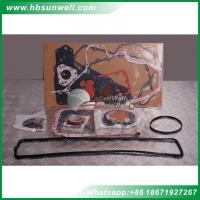 Buy cheap Cummins upper and lower gasket sets 3283333 3804896 3802375 digger engine from wholesalers
