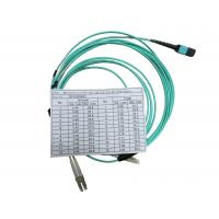Quality OPTOSTAR Fiber Optical Patch Cord Multi Cores Fiber Cable with One MPO Connector for sale