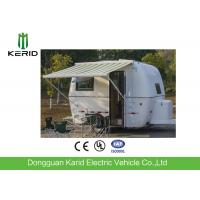 Quality Easy Towing Camper Van Trailer , Compact Lightweight Rv Trailers With Awning for sale