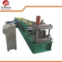 Quality Semi-Automatic C Section Purlin Cold Roll Forming Machine for steel frame for sale