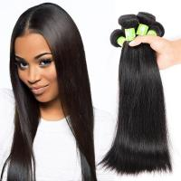 Quality Popular Durable Indian Human Hair Extensions , Clean / Smooth Virgin Remy Straight Hair for sale