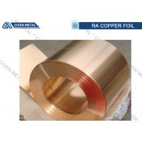 Quality Copper And Tin Qsn8 - 0.3 Bronze Alloy Foils for Anti - abrasion Devices for sale