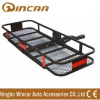 Quality Steel Material Hitch Mount Rear Bike Carrier , Folding Cargo Carrier for sale