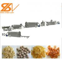 China Professional Corn Flakes Processing Line Customized Capacity  1 Year Warranty on sale