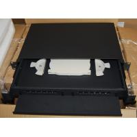 Quality SF-FPP003: Sliding Type 1U 12Port Fiber Optic Patch Panel With Print Number for sale