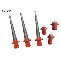 Buy 5 Stage Telescopic Hydraulic Ram Single Acting for Dump Truck / Trailer at wholesale prices