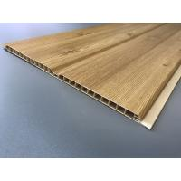 Buy Middle Groove Plastic Laminate Panels Easy Clean 25cm × 9mm Grained Type at wholesale prices