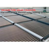 Quality Eco Friendly Vacuum Tube Solar Collector , Evacuated Glass Tube Solar Collector for sale