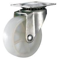 Quality Moving Dollies Furniture Caster Wheels With Double Ball Bearing Swivel Head for sale