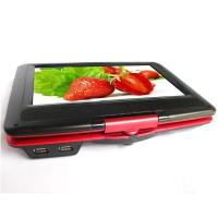 Buy 1024 * 600 Pixels Rotatable Screen 9 Inch Portable DVD Player for Home Use at wholesale prices