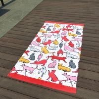Quality Giraffe Cat Cute Beach Towels for sale