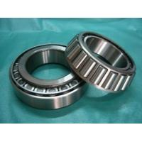 Quality Stainless Steel Single Row Tapered Roller Bearings Durable With Machined Brass Cage for sale