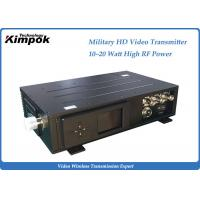Quality NLOS HDMI/HD-SDI Video Transmitter Outdoor Manpack Transmitter and Receiver Water-proof for sale