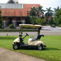 Quality Electric Power 2 Seater Golf Carts , Small 2 Passenger Golf Buggy UV Proof for sale