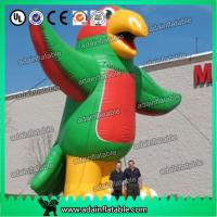 Quality 6m Giant Inflatable Parrot Birds with Blower for Outdoor Advertisement or Promotion for sale