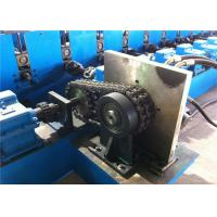 Perforated Solar Steel C Channel Roll Forming Machine , 35KW C Purlin Machine CE