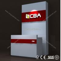 Quality China manufacturer cash desks checkout counter display cabinet for sale