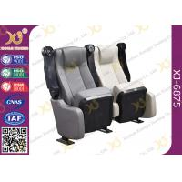 Buy Durable Micro Fiber Leather Folding Theater Seats Home Theater Recliner Seats at wholesale prices