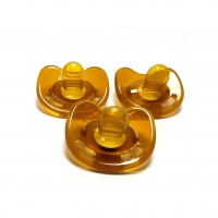 Quality Natural Color Baby Sucking Pacifier For Breastfed Baby FDA / SGS Approval for sale