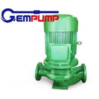 China IRG type vertical Inline Hot Water Booster Pump for  chemical / textile on sale
