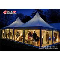 Quality Fire Retardant Outdoor Event Tent For Trade Fair ABS Sidewall Fireproof for sale