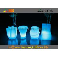 Quality Wireless Remote Control  , LED Cube Chair with 16 colors for coffee shop for sale