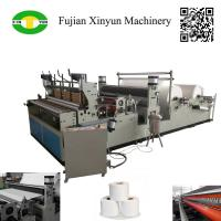 Quality High speed automatic perforating rewinding toilet paper making machine for sale