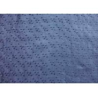 Quality Professional Blue Ramie Material Jacquard Upholstery Fabric for sale
