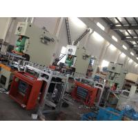 Quality Automatic Airline Multicavity Aluminum Foil Food Container Machine , Punching Machinery for sale