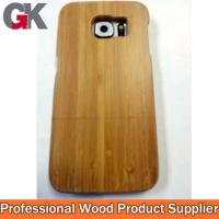 China Bamboo smartphone case for samsung galaxy S6 on sale