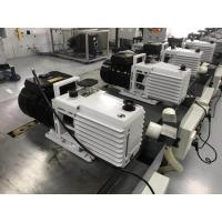 Buy 0.55 KW DRV16 Lubricated Rotary Vane Vacuum Pump Dual Stage White Color at wholesale prices