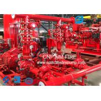 Quality Centrifugal Skid Mounted Fire Pump Single Stage For Pipelines Bureaus for sale
