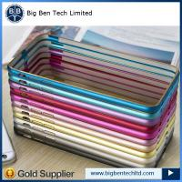 Quality china supplier aluminum for iphone 6 bumper metal case 12 colors for sale