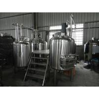 Buy Full-Automatic Small Beer Brewing Equipment Commercial 100L - 5000L at wholesale prices