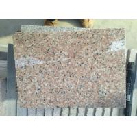 Quality G681 Shrimp Pink Rose Pink Rosy Cloud Xiahong light pink red polished Granite stone tiles slabs for sale