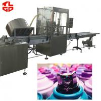 Quality Automatic Aerosol Filling Machine / Assembly Line For Rubber Paint Spray for sale