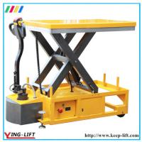 Buy Mobile Motorized Electric Hydraulic Scissor Lift Table YLF120 at wholesale prices
